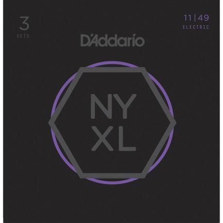 D'addario - NYXL1149 MEDIUM [11-49] PACK 3 JUEGOS 1