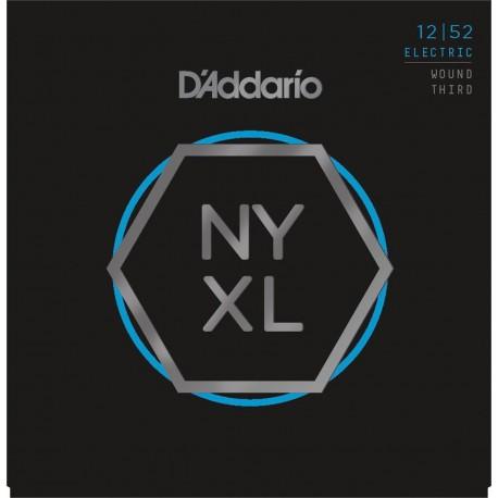 D'addario - NYXL1252W ELECTRIC WOUND THIRD [12-52] 1