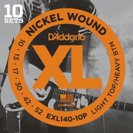 D'addario - EXL140-10P LIGHT TOP/HEAVY BOTTOM [10-52] 1