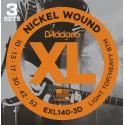 D'addario - EXL140-3D LIGHT TOP/HEAVY BOTTOM [10-52]