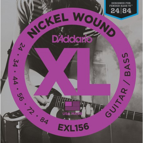 D'addario - EXL156 XL GUITAR/BASS [024-084] 1