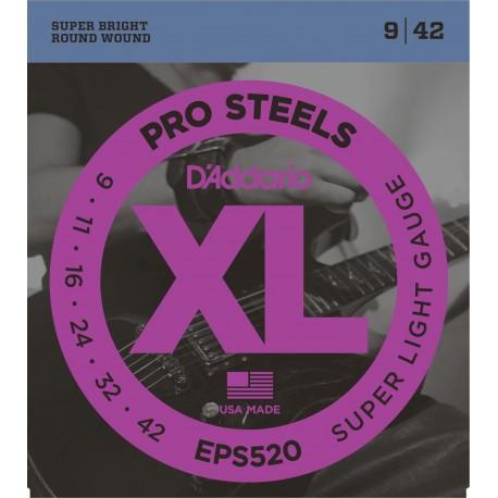 D'addario - EPS520 PROSTEEL SUPER LIGHT [09-42] 1