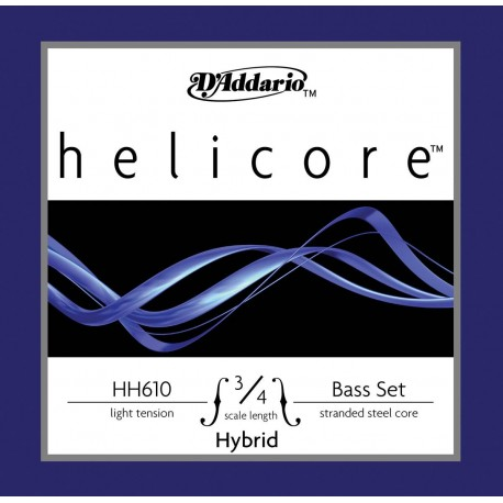 Dáddario Orchestral - HH610 HELICORE HIBRID 3/4 L 1