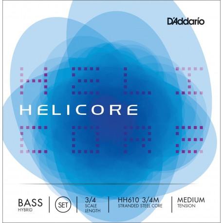 Dáddario Orchestral - HH610 HELICORE HIBRID - 3/4 M 1