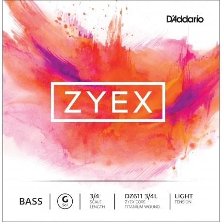Dáddario Orchestral - DZ611 ZYEX 3/4L 1