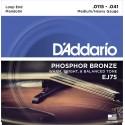 D'addario - EJ75 MANDOLIN STRINGS PHOSPHOR BRONZE MEDIUM/HEAVY [11.5-41]