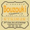 D'addario - EJ97 GREEK BOUZOUKI, 8-STRING, NICKEL WOUND