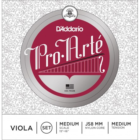 Dáddario Orchestral - J58 PRO ARTE ESCALA MEDIA M 1