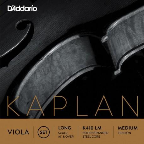 Dáddario Orchestral - KA410 LH KAPLAN AMO VIOLA LONG SCALE HEAVY TENSION 1