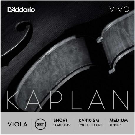 Dáddario Orchestral - KV410 SM JUEGO DE VIOLA ESCALA CORTA TENSIÓN MEDIA 1