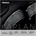 Dáddario Orchestral - KV410 SM JUEGO DE VIOLA ESCALA CORTA TENSIÓN MEDIA