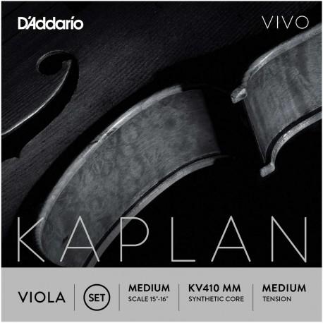 Dáddario Orchestral - KV410 MM JUEGO DE VIOLA ESCALA MEDIA TENSIÓN MEDIA 1