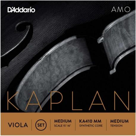 Dáddario Orchestral - KA410 MM JUEGO DE VIOLA ESCALA MEDIA TENSIÓN MEDIA 1