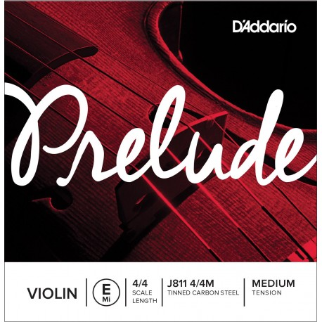 Dáddario Orchestral - J811 PRELUDE - MI 1