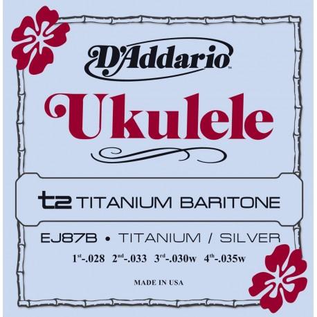 D'addario - EJ87B TITANIUM UKULELE BARITONE 1