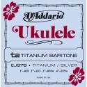 D'addario - EJ87B TITANIUM UKULELE BARITONE