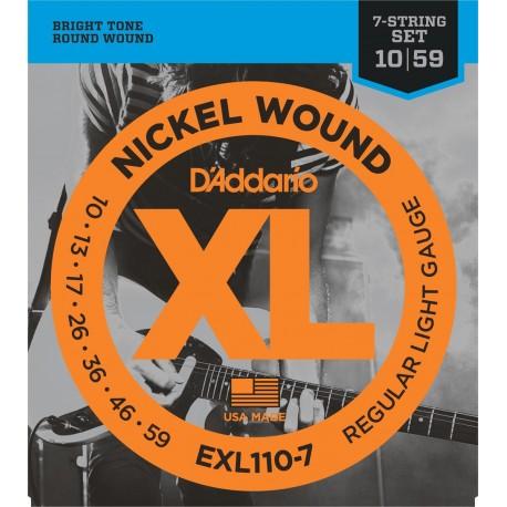 D'addario - EXL1107 - XL REGULAR 7-STRING [10-56] 1