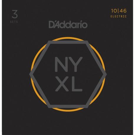 D'addario - NYXL1046 REGULAR LIGHT [10-46] PACK 3 JUEGOS 1