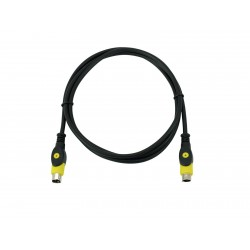 Omnitronic - S-Video cable 1.5m 1