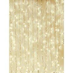 Eurolite - Cadena cortina LED blanco calido