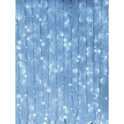 Eurolite - Cadena cortina LED blanco frio