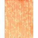 Eurolite - Cadena cortina LED ambar