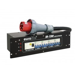 Eurolite - SB-1200 Power Distributor 63A 1